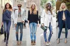 How to choose the best jeans for your body shape: http://www.clubfashionista.com/2014/10/choosing-best-jeans-for-your-shape.html #clubfashionista #denim #styling