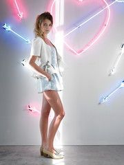 Bubble Ruffle Jacket by Sretsis - Maximillia
