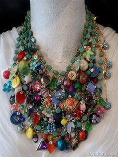 vintage piece necklace