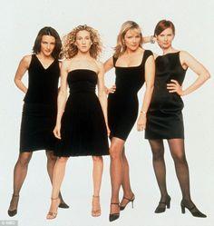 Inspirational: Sex and The City stars Kristin Davis, Sarah Jessica Parker, Kim Cattrall and Cynthia Nixon