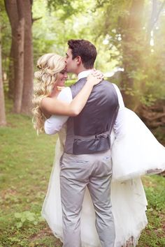 "Why We Love It: A sweet kiss on the forehead while wrapped up in his arms — does it get any more romantic?Why You Love It: ""Prince Charming carrying his princess off to live happily ever after."" —Mindy W."