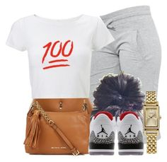 """""""Basic Chill Outfit"""" by blasianmami16 ❤ liked on Polyvore featuring мода, Michael Kors, Retrò и Coach"""