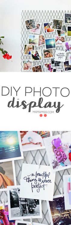 Here is the simplest DIY Photo Display EVER! It's really time to get your photos off of your phone & printed for display - ready for me to show you how?! | @mamamissblog @timeshel  #timeshelprints #Pmedia #ad