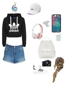 """""""YouTubers"""" by gamer0606012304 on Polyvore featuring adidas, Billabong, Casetify, Loewe, Versace, Beats by Dr. Dre and Panasonic"""