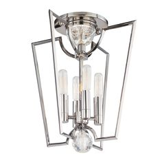 For above the kitchen table  WATERLOO Semi-Flush | Hudson Valley Lighting