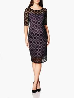 Perfect for the Holiday! 3/4 Sleeve Lace #ThymeMaternity Dress from Thyme Maternity