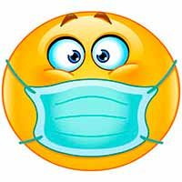 Smiley with breathing mask. on those smoggy days, or smelly things. Smiley Emoji, Funny Emoji Faces, Emoticon Faces, Smiley Faces, Emoji Images, Emoji Pictures, Funny Pictures, Animated Emoticons, Funny Emoticons