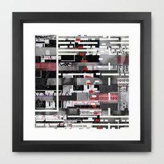 "PD3: GCSD07  by Wayne Edson Bryan    FRAMED ART PRINT / VECTOR BLACK MINI (12"" X 12"")  $40.00"
