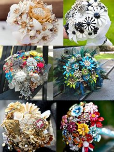 I want to learn how to make Brooch Bouquets. Then I want to get married again so I can carry one down the aisle.