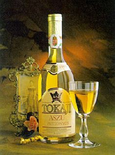a sweet white wine from the Tokaj wine region, about 125 miles east of Budapest, Hungary. Imperial Tokay was originally made in the Imperial Austro-Hungarian cellars Hungarian Cuisine, Hungarian Recipes, Hungarian Food, Whisky, Sangria, Sweet White Wine, Wine Varietals, Spiritus, Wine Art