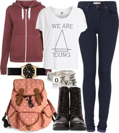 """""""School"""" by ieleanorcalderstyle ❤ liked on Polyvore"""