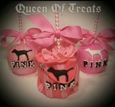 Victoria secret Pink Candy apples