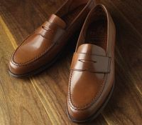 a19aeb1cf10 The Harvard Loafer in Whiskey Cordovan Loafers Outfit