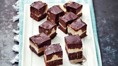 Raw čokoládovo-kokosové tyčinky Foto: