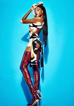 gq portugal  2015 | View More Pictures: Winnie Harlow Rocks Dior for GQ Portugal Shoot by ...