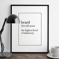 Beard - barba
