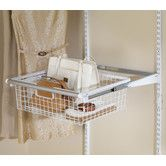 Found it at Wayfair - Rubbermaid Configurations Sliding Basket