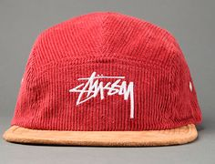Cord Camp 5 Panel Hat by STUSSY