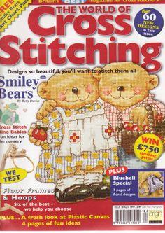 Gallery.ru / Фото #1 - The world of cross stitching 018 апрель 1999 - WhiteAngel