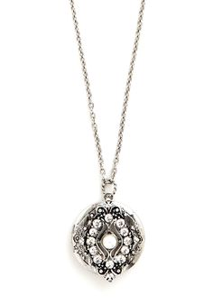 Keep Close Necklace. Carry your most treasured memories close to your heart with this pendant necklace! #white #modcloth
