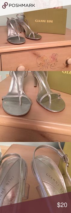 Gianni Bini Marcy Heels Does have some wear but shouldn't be noticeable when on feel free to make an offer Gianni Bini Shoes Heels