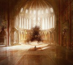 The Iron Throne, GRR Martin by *MarcSimonetti on deviantART