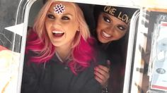 Perrie Edwards and Jesy Nelson gif ! My work.