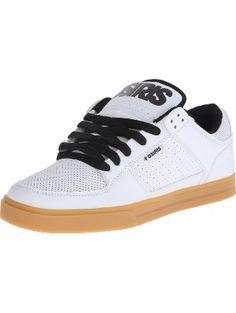 Osiris Men's Protocol Skate Shoe, White/Gum, 8 M US ❤ Osiris Shoes