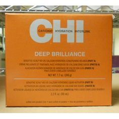 CHI Deep Brilliance Sensitive Scalp No Lye Calcium Hydroxide Conditioning Relaxer(Part A - 7.7 oz/Part B - 2.2 oz)