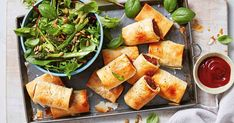 These quick sausage rolls will be a hit with family and friends at your next backyard barbecue or weekend party.