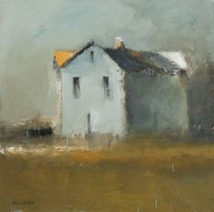 """Victor Mirabelli's impressionistic landscape oil paintings reflect the undaunted beauty of the countryside and structures that surround him. His approach is undisciplined, free spirited—an abandonment from the traditional—resulting in something """"fresh and imaginative."""" Mirabelli attributes his styl"""