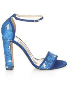 Alexander Lewis collaborates with Manolo Blahnik to create surfer-girl-meets-Asian-urbanite heels for Pre Spring '14.