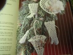Christmas Thread Crocheting Patterns Victorian
