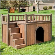 Free Doghouse Plans - 3 Tips to Look For When Choosing One | Dog House   #DogHouses