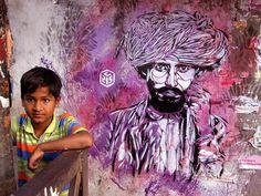 C215 [Christian Guémy] french artist- New Delhi