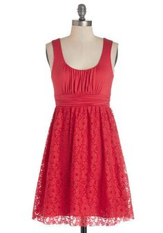 I love this dress because it is a little casual which is what I like and I love the lace bottom on it!