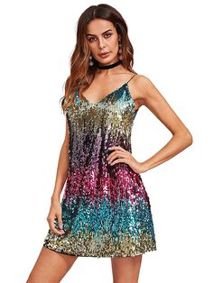 4be8a322eb34 Verdusa Women s Sexy Sleeveless Fit and Flare Loose Party Clubwear Dress