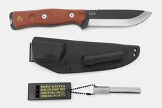 TOPS Knives B.O.B. Fieldcraft Series Knives