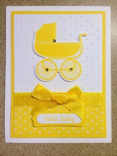 """""""Make-It Monday"""": Baby card using Something for Baby - created with Stampin' Up! products"""