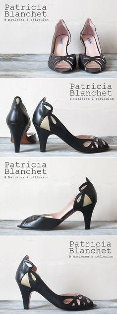 NEW IN ! #patriciablanchet #escarpins Findouce #pumps #retro #vintage #fashion #itshoes #frenchfashion #sofrench #artnouveau #newin #nouvellecollection