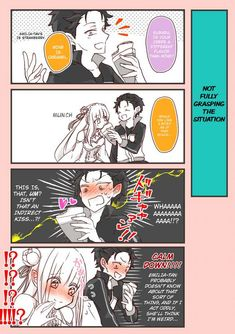 Tagged with anime, rezero; Shared by *Full* Emilia & Subaru's Date Comic Anime Girl Cute, Kawaii Anime Girl, I Love Anime, Re Zero Wallpaper, Short Comics, Anime Artwork, Manga, Anime Comics, Anime Style