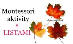 Montessori aktivity s LISTAMI