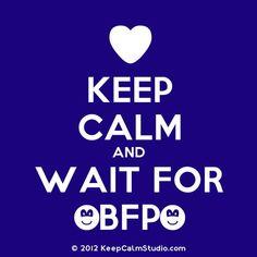 Keep Calm and Wait for a BFP!  #infertility sucks