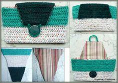 Folded Crochet Bag