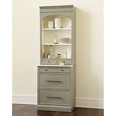 Paulette Server with 2 DrawersWe have room to fit two of these side by side between living and dining rooms. Is this the type of hutch/storage you were thinking? Do you like the look of this? Also in white, and available with wine rack in place of drawers or doors in place of drawers