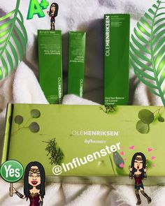 I'm so happy with my new @influenster Vox Box from @OleHenriksen! The Best for oil control I have tried ❤ I got this products complimentary as a part of an Ole Henriksen campaign and I'm very happy to share my review of this products! I have a combination skin, I get oily on my t-zone and so far I can see my skin moisturized with a matte finish  I see my pores looking smaller, the scent is very refreshing like minty!  I can say this is a must have product!