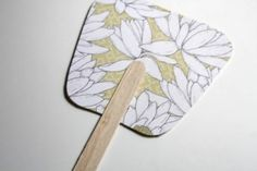 Paddle fan-great craft for kids