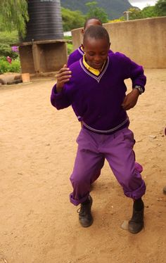 The children of Tanzania have got the moves! They move like Jagger...