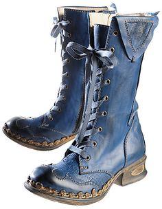 Stiefel Mirka von Rovers in blau | Deerberg