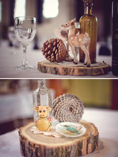 Magnolia Rouge: Whimsical Woodlands themed wedding by Rachael Kelly...